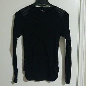 ZARA black longsleeve tshirt